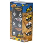 Motormax 3-pack Pull-Back Monster Trucks