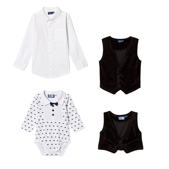 Max Collection Pakke med Max Collection Skjorte med Vest + Smoking Baby Body
