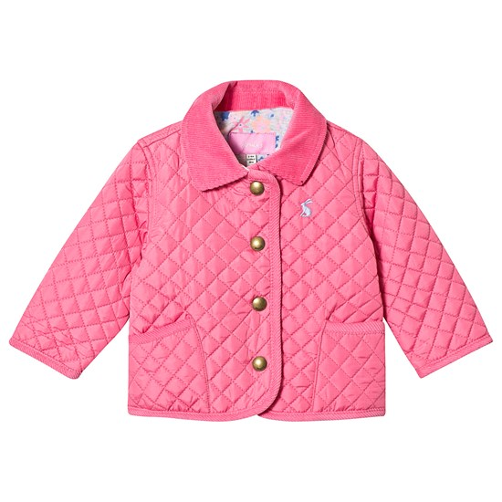 Joules Hot Pink Quilted Jacket