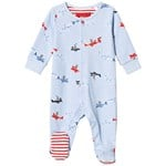 Joules Blue Flying Bear Babygrow