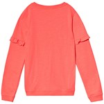 Joules Orange Sequin Parrot Sweatshirt