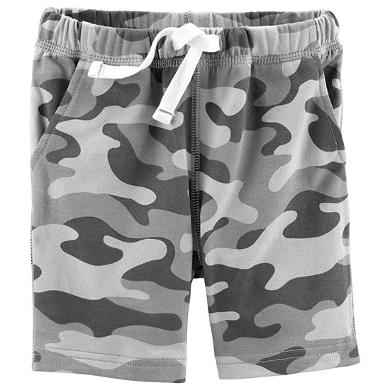 Carter's French Terry Short Grey Camo