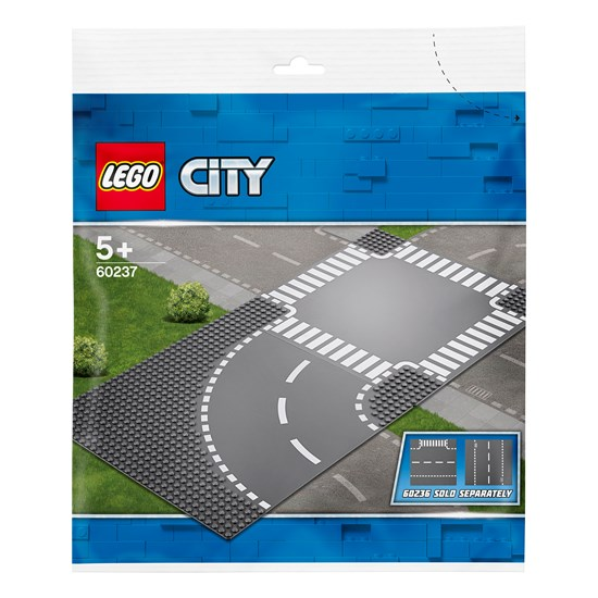 LEGO City 60237 LEGO City Supplementary Curve and Crossroad