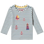 Frugi Everest Printed Stripe Top