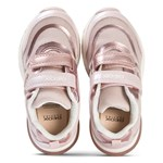 Geox Rose Gold Spaceclub Velcro Trainers