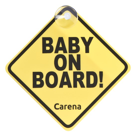 Carena Baby On Board Car Sign