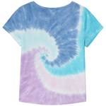 Lands' End Blue Tie Dye Swirl Print Tee