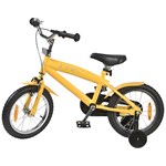 STOY Bicycle 14 Cruiser Frame Yellow