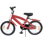 STOY Bicycle 16 Cruiser Frame Red