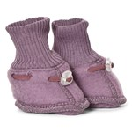 Mikk-Line Wool Baby Footies Flint