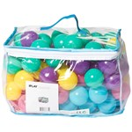 iPLAY Play balls 100 pcs Multi Pastel Colored