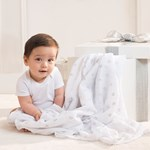 Aden + Anais 3-Pack Classic Swaddle Metallic Silver