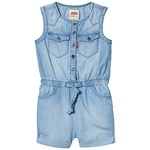 Levis Kids Light Wash Denim Sleeveless Playsuit