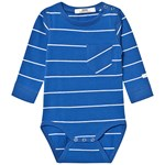 ebbe Kids Noby Bodystocking Classic Blue/White Stripe