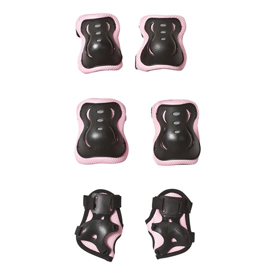 STOY Elbow and Knee Protection Pads Pink Size M