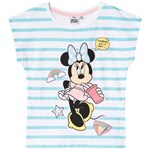 Disney Minnie Mouse Minnie Mouse Ss T-Shirt White/Orchid Pink