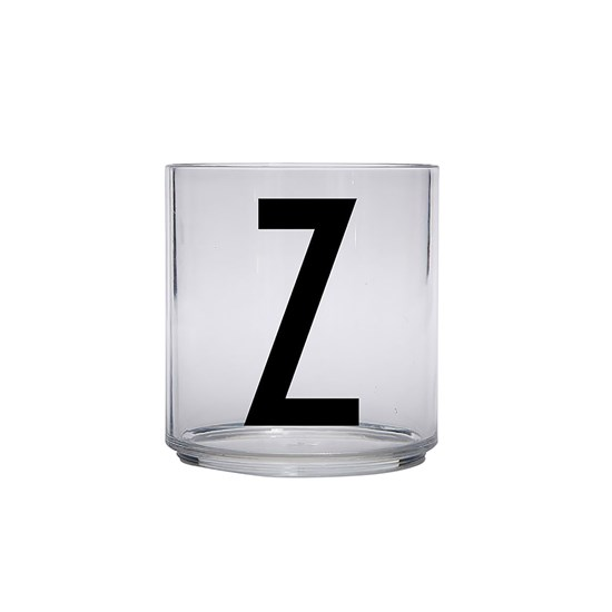Design Letters Kids Personal Drinking glass Z