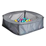 iPLAY Pool with Play balls 100 pcs Multi Pastel Color
