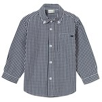 Hust&Claire Plaid Shirt Navy