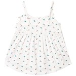 Gap May Rfl Tank White Floral