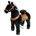 PonyCycle Black Horse Ride-On - Small
