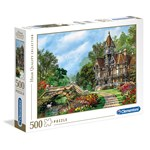 Clementoni Puzzles High Quality Collection Old Waterway Cottage 500 pcs