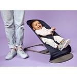 BabyBjörn Bliss Bouncer Navy Mesh + Toys For Bouncer Flying Friends