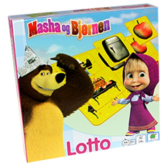 Barbo Toys Masha and the Bear Lotto