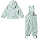Mini A Ture Julien And Rubi Fleece Set Mint Blue