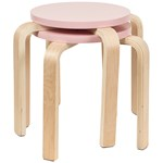 SG Furniture 2-pakke Taburatter Pink
