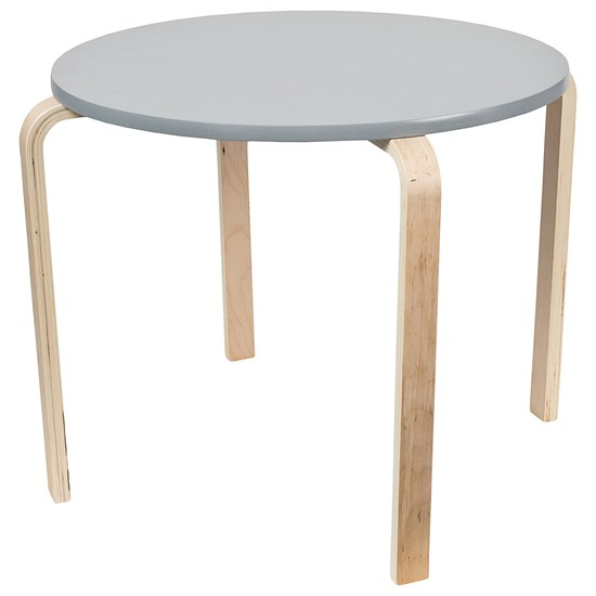 SG Furniture Børnebord Grå