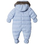 Timberland Pale Blue Water Repellent Snowsuit with Mittens and Booties