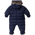 Timberland Navy Water Repellent Snowsuit with Mittens and Booties