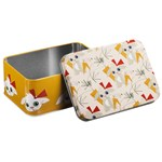 Blafre Rectangular Tin Box, Rabbit