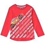Disney Pixar Cars Cars LS T-Shirt Racing Red