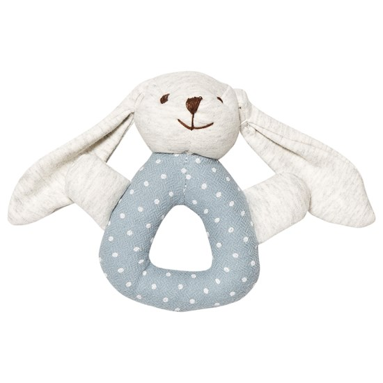 STOY Baby Rattle Bunny Blue