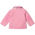 Joules Pink Mabel Infants Quilted Jacket