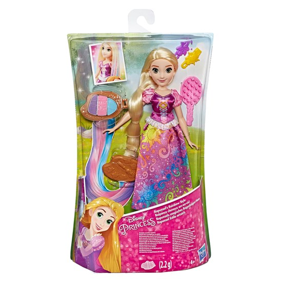 Hasbro Disney Princess, Rainbow Hair Rapunzel
