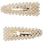 Ciao Charlie Hair Clips Pearls
