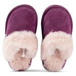 Emu Australia Pink Quilted Wool Lined Jolie Slipper