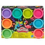 Hasbro Play-Doh, 8-Pack, Neon