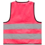 Safety Reflective Vest Pink
