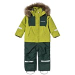 Didriksons Tirian Kids Coverall Seagrass Green