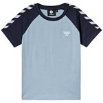 Hummel Svend T-Shirt S/S Ashley Blue