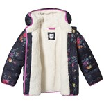 Gap Cozy Puffer Navy Floral