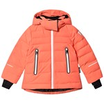 Reima Reimatec Down Jacket Waken Bright Salmon