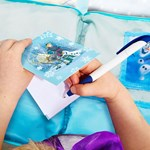 Disney Frozen Disney Frozen Hide n Sleep Cushion