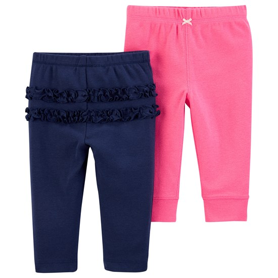 Carter's 2Pk Pant F19 Lbb Girl Navy Pants