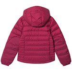 Bergans Down Youth Girl Jacket Beet Red