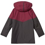 Bergans Knyken Insulated Youth Jacket Beet Red